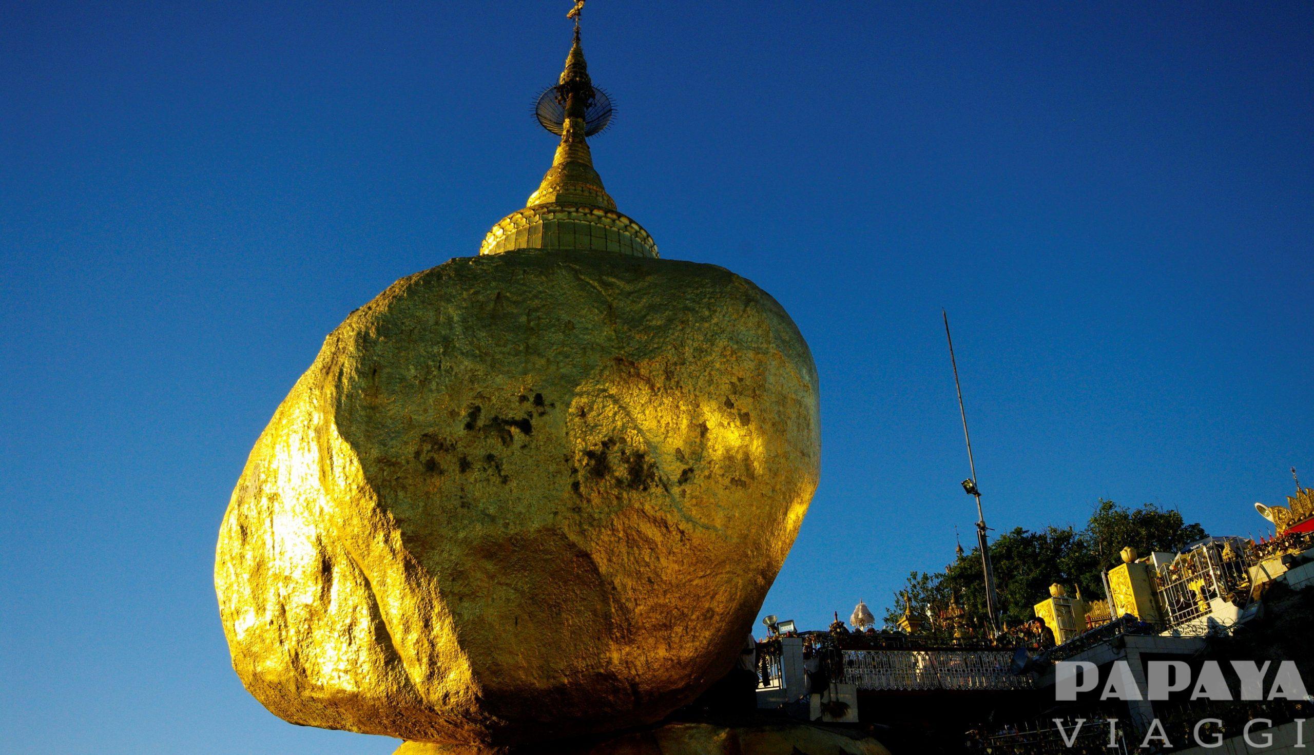 Myanmar classico e Golden Rock